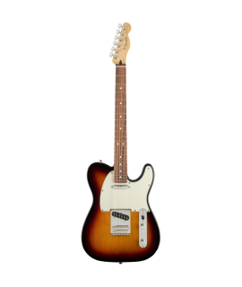 Fender Player Telecaster PF 3-Color Sunburst elektromos gitár