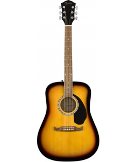 Fender FA-125 Dreadnought Walnut Sunburst akusztikus gitár