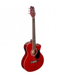 Stagg SA20ACE BLK elektro- akusztikus gitár