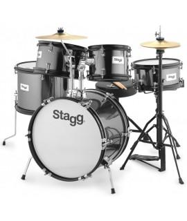Stagg TIM JR 5/16B BK dobfelszerelés