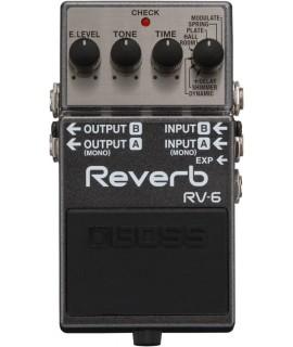 Boss RV-6 reverb gitáreffekt