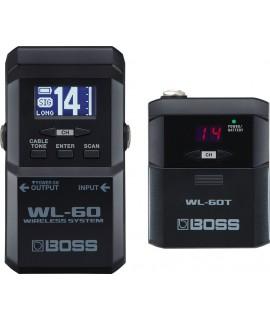 Boss WL-60 vezetéknélküli rendszer