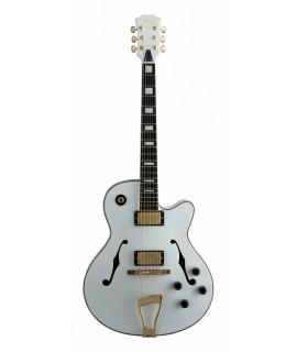 Stagg A300-WH elektromos-jazz gitár
