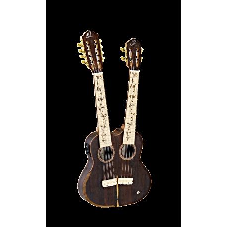 Ortega HYDRA-ZS dupla nyakú tenor ukulele