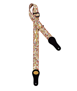"""Ortega KNS-VP Keiki Designer Heveder """"Voodoo Puppet"""""""
