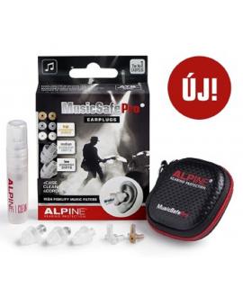 Alpine MusicSafe Pro Szűrős füldugó zenészeknek, DJ-knek