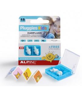 Alpine Pluggies Kids Úszás, koncert, utazás, repüléshez füldugó gyerekeknek