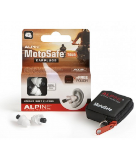 Alpine MotoSafe Tour Szűrős füldugó motorosoknak