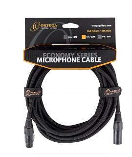 Ortega OECM-30XX XLR- mikrofonkábel, 9m