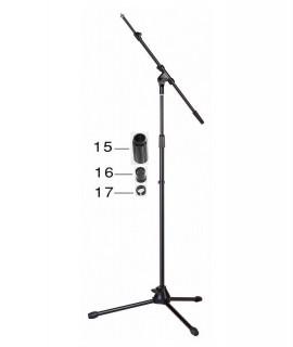 STAGG MIS-2024BK mikrofonállvány