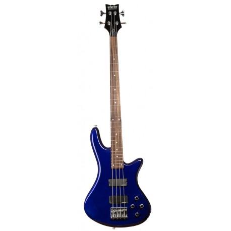 Schecter Stiletto Deluxe-4 Blue Basszusgitár