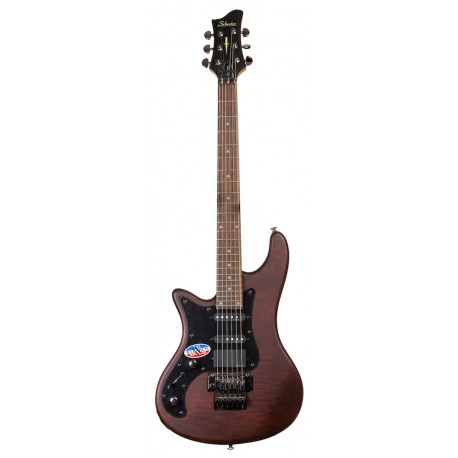 Schecter Stiletto-6 FR LH MSN Elektromos gitár
