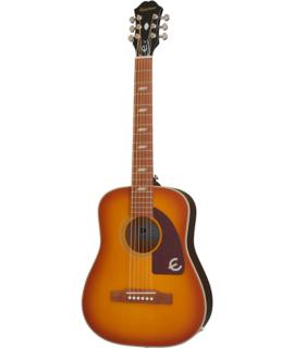 Epiphone Lil' Tex Travel Acoustic Outfit Faded Cherry elektroakusztikus gitár