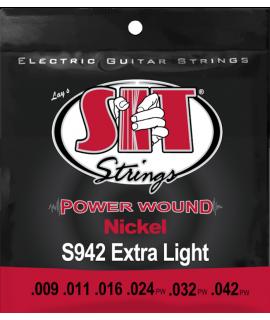 SIT S942 elektromos gitár húrkészlet
