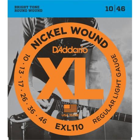 D'Addario EXL110 Elektromos gitárhúr