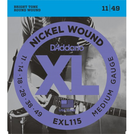 D'Addario EXL115 Elektromos gitárhúr