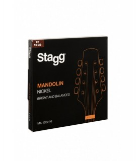 Stagg MA-1032-NI mandolin húrkészlet
