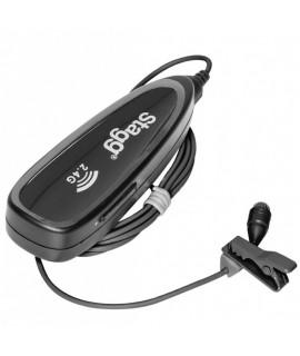 STAGG SUW 12L vezeték nélküli csíptetős mikrofon szett
