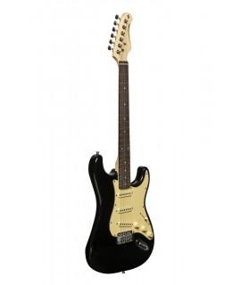 Stagg SES-30 BK 3/4 elektromos gitár