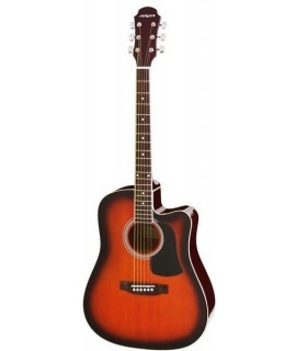 Aria AWN-15CE BS Elektroakusztikus gitár