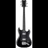 HAGSTROM Basszusgitár, H8II, Black Gloss, 8-string