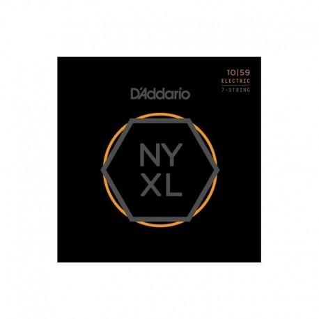 D'Addario NYXL1059 7 húros elektromosgitár húrszett