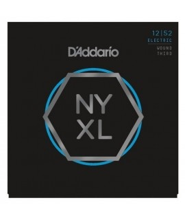 D'Addario NYXL1252W elektromosgitár húrkészlet 12-52