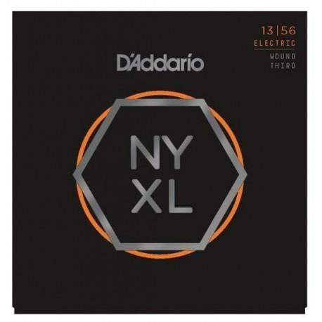 D'Addario NYXL1356W elektromosgitár húrkészlet 13-56