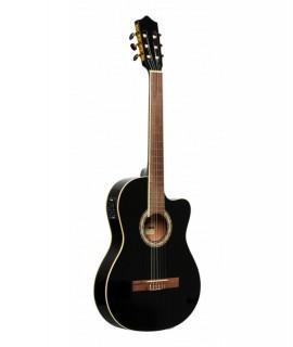 Stagg SCL60TCE-BLK elektro-akusztikus gitár