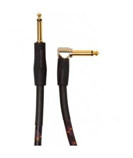 """Roland RIC-G10A 3m hangszer kábel, pipa/egyenes 1/4"""" jack"""