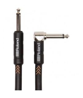 """Roland RIC-B15A 4.5m hangszer kábel,pipa/egyenes 1/4"""" jack"""