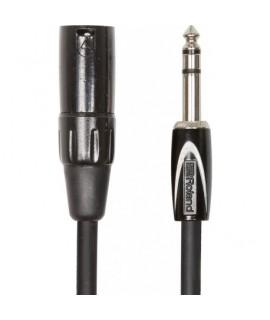 """Roland  RCC-15-TRXM 4.5m szimmetrikus átalakító kábel, 1/4"""" TRS-XLR(Male)"""