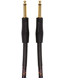 Roland RIC-G3 1 m-es patch/pedál kábel - 6.3mm-es egyenes jack dugókkal