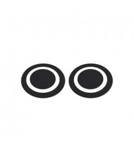 KICKPORT BLKEYE Black Eye D-Pad Ütőbetét lábdobhoz (2 db)