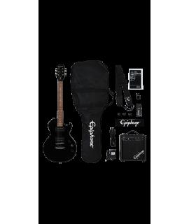 Epiphone Les Paul Player Pack Ebony elektromos gitár