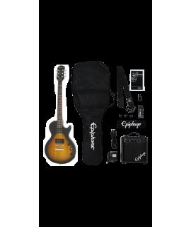 Epiphone Les Paul Player Pack Vintage Sunburst elektromos gitár