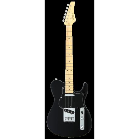 FGN Boundary Iliad, 2x Singlecoil Black  elektromos gitár