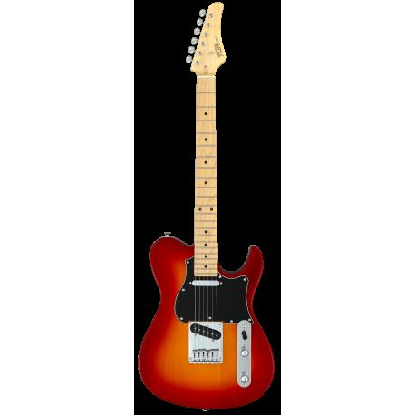 FGN Iliad Boundary, 2x Singlecoil, Cherry Sunburst elektromos gitár