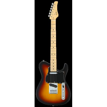 FGN Boundary Iliad, 2x Singlecoil, 3-Tone Sunburst elektromos gitár