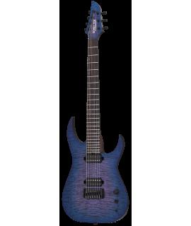 Schecter Keith Merrow KM-7 MK-III Pro USA Signature Blue Crimson Pearl elektromos gitár