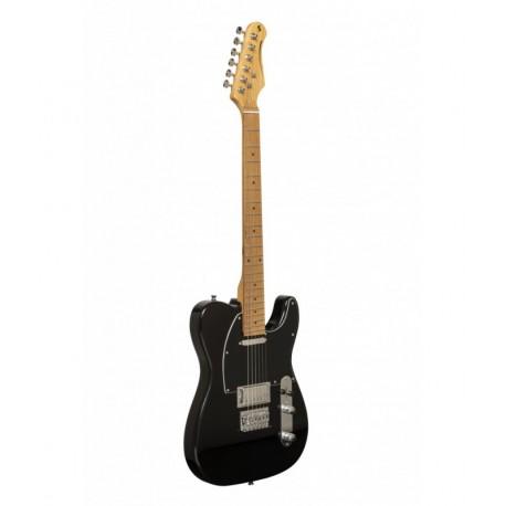 Stagg SET-PLUS BK elektromos gitár