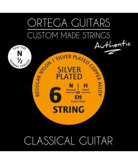 Ortega NYA12N húrkészlet 1/2 es klasszikus gitárhoz