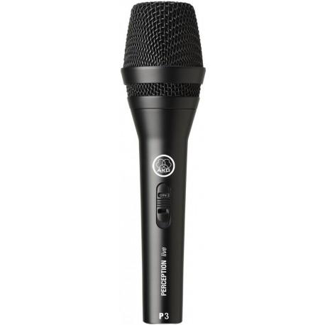 AKG P3S Kardioid dinamikus mikrofon