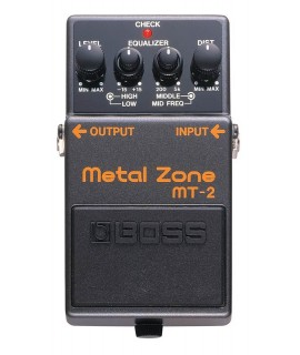 BOSS MT-2 Metal Zone Szólógitár effekt