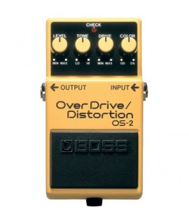 BOSS OS-2 OverDrive/ Distortion Szólógitár effekt