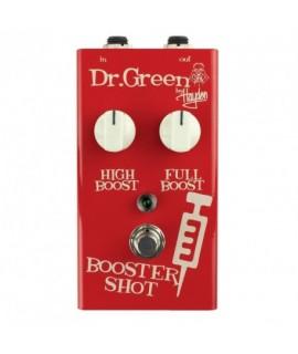 Dr.Green by Hayden Booster Shot Signal Booster Pedal Basszus effekt