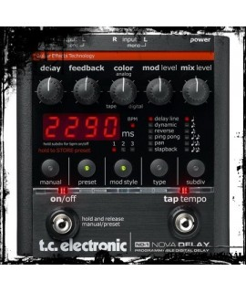 TC Electronic ND-1 Nova Delay Szólógitár effekt