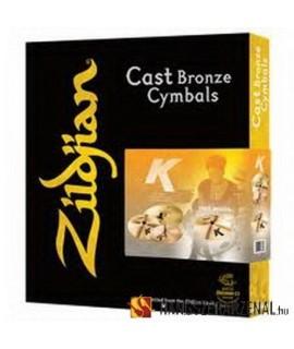 Zildjian K0800 Bonus Pack Cintányér szett